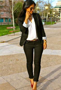 4 Looks diferentes para ir a trabajar | Cuidar de tu belleza es facilisimo.com