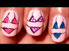 Spring Break Nail Picks Spring Nail Art – Orlando Makeup Artist and LA Makeup Artist - Amber Norell