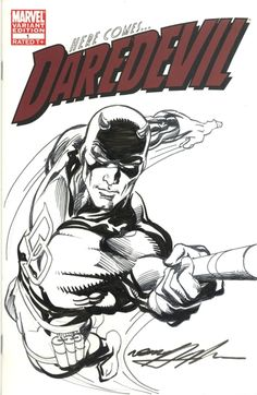 Neal Adams DareDevil Comic Art