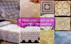With different colored squares joined together, we can achieve a large bedspread. With crochet patterns you can knit that bedspread model, you always wanted to put on the bed. The colorful bedspreads never go out of style, and you can … Read more. Crochet Skirts, Bed Spreads, Tatting, Crochet Patterns, Quilts, Embroidery, Blanket, Diy, Home Decor