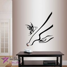 Wall Vinyl Decal Home Decor Art Sticker Girl Woman Hand and Foot Body Care Pedicure Nails Massage Butterfly Beauty Spa Salon Room Removable Stylish Mural Unique Design BUY NOW     $25.99    Thank You for stopping at our store! Our decals can be applied on any clean, flat, smooth, light-textured surface, such as wal ..  http://www.beautyandluxuryforu.top/2017/03/15/wall-vinyl-decal-home-decor-art-sticker-girl-woman-hand-and-foot-body-care-pedicure-nails-massage-butterfly-beauty-..