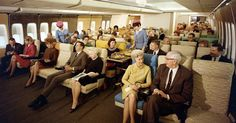Remember the Luxury of Flying In The 70s? You'll Never Believe What Was Happening In The Rest Of The Plane.