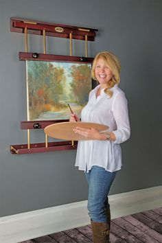 Make any space a painting place with Rue Wall Painting and Display Easels! If you're an artist with a small working space, the space saving Rue Wall Easel is the perfect fit for small studios, dorms, offices and work spaces. Rue Wall Easels require zero floor space and are much easier to set up when it's time to create! Simply assemble, then mount the Rue easel to the wall of your choice, pull out the easel base up to a 70° angle and begin painting! When you're finished,...