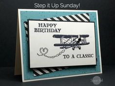 Image result for stampin up airplane stamp