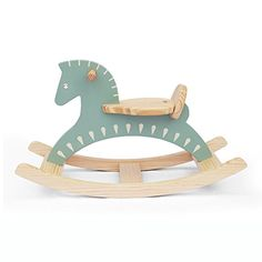 Handmade Wooden Ride On Rocking Horse Sky Blue Animal Design Rocker   This wooden rocking horse is handcrafted with a distinct style. It is made with New Zealand pine Read  more http://shopkids.ca/handmade-wooden-ride-on-rocking-horse-sky-blue-animal-design-rocker/