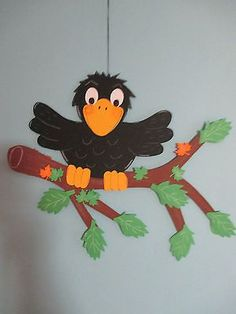 Pinecone Crafts Kids, Bird Crafts, Bunny Crafts, Pumpkin Crafts, Crafts For Kids, Paper Crafts, Anniversary Crafts, Bird Applique, Hobbies For Kids