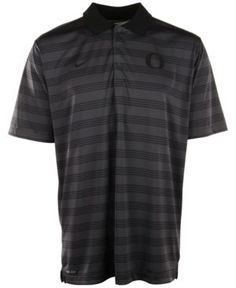 Nike Men's Oregon Ducks Dri-fit Preseason Polo Shirt - Silver S