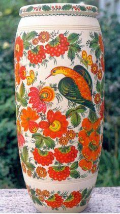 Ceramic (petrakivka), Ukraine