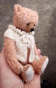 "Tomorrow & Forever, OOAK 7"" Mohair Artist Teddy Bear from Aerlinn Bears"