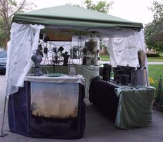 Display set up - Getting ready for June 12th Symphony on the Green Art Show | Flickr - Photo Sharing!