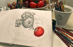 How to shade with colored pencils, great tutorial