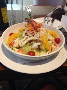 Seafood Salad by Rhapsody