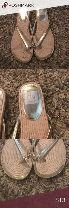 Dolce Vita sandals Dolce Vita gold sandals in very good condition. Worn once Dolce Vita Shoes Sandals