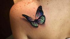 Butterfly Tattoo Design by Alex Bruz