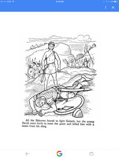 Old Testament Bible Story Coloring Pages