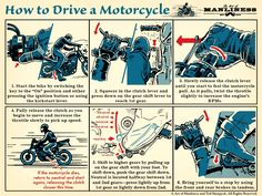 How to Drive a Motorcycle | The Art of Manliness