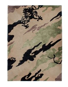 View our 2158 DPM: BONSAI FOREST RUG part of the Objects collection on Maharishi.