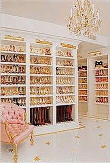 I want this for my home only if it is filled with beautiful shoes