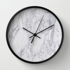 White Marble Wall Clock Marble and Metallics Bedroom Decor and Home Design Inspiration Copper And Marble, White Marble, Home Design, Bedroom Decor, Wall Decor, Decoration Inspiration, Design Inspiration, Marble Wall, Home And Deco