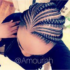 """345 Likes, 22 Comments - Amourjah (@amourjah) on Instagram: """"Client Celfie Book under 5 braids #hairstyles #brooklynbraider #amourjahstylez #feedinbraids…"""""""