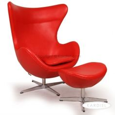 Egg Chair |$1169 in leather Kardiel