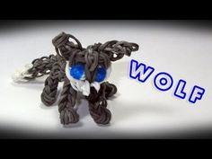 Rainbow Loom Charms: WOLF Charm: How To Tutorial / Design (DIY Mommy)