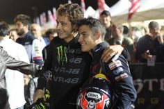 Vale & Marc, Misano 2014 - from FB page Vale Sempre Tanto