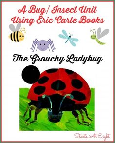 A Bug/Insect Unit Using Eric Carle Books ~ The Grouchy Ladybug