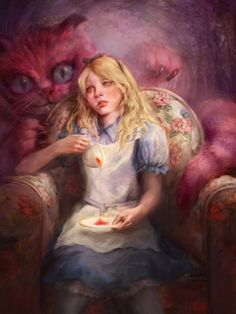 alice in wonderland, Dong-gun Yoon on ArtStation at https://www.artstation.com/artwork/bnQbn