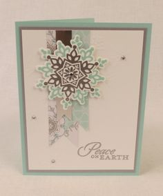 Festive Flurry Peace on Earth by Diane Vander Galien - Cards and Paper Crafts at Splitcoaststampers