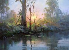 8 Paintings by Ivars Jansons