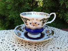 English Vintage ROYAL ALBERT Fine Bone China Tea Cup & Saucer - Dorchester Series