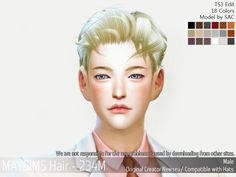 MaySims M_Hair  Just To Say you Need 200 f**king Points for Download This:)