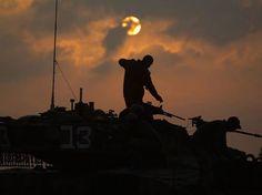 "Entering Gaza. Be carefull brothers ... ""No other solution"" ""Tzuk Eitan"" Operation July 2014'"