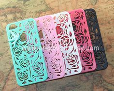 5 color for choice, Floral iphone 4 4s case, iphone 5 5s 5c Case, mint bird in the floral case for Iphone case cover,iphone cover on Etsy, $8.99
