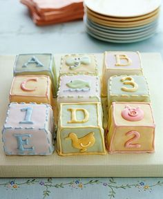 Beautiful images to inspire you with ideas when planning a baby shower...