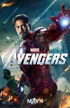 PERSONNAGE TONY STARK STICKER AUTOCOLLANT POSTER A4 FILM IRON MAN-AVENGERS