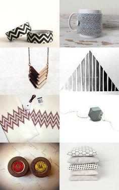 Etsy Geometry by Jean Ladzinski-Saxon on Etsy--Pinned with TreasuryPin.com