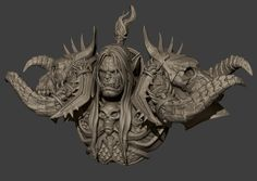 3dsquid's Statues and Digital Sculpt work