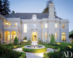 White Exterior Paint Colors Ideas for Beautiful Houses Photos | Architectural Digest