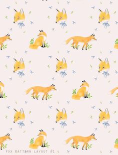 Foxes by Devon Smith. So sweet for a nursery!