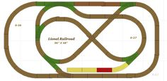 vintage lionel o gauge track plans | lionel track plan almost all the track is lionel 0