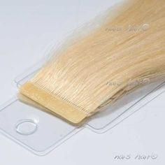 Tape Hair Extensions #613 (Bleach Blonde)   #hair $89.95