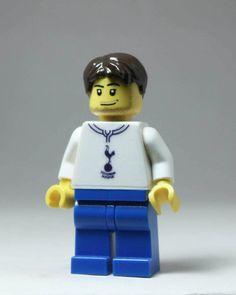 Tottenham Hotspurs Football Club custom Lego® minifigure. Etsy
