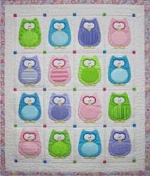 Owls perfect for a baby.