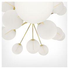 Plane chandelier / Tom Dixon