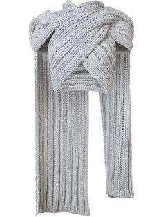 b22c6e1f90b26 Christian Siriano knitted wrap scarf Christian Siriano