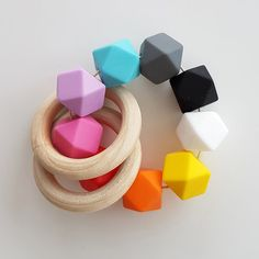 Have a look at our Munari, Octahedron, Gobbi and Dancers baby mobiles. Teething Toys, Baby Teething, Baby Toys, Kids Toys, Montessori Baby, Sensory Toys, Working With Children, Baby Shower Gifts, Bead