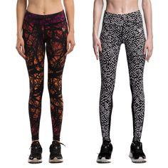 Vrouwen yoga compressie broek elastische panty vrouwelijke oefening sport fitness jogging jogger broek gym slim leggings