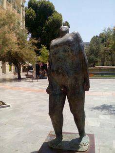 """""""Caminante"""" por el escultor Juan Antonio Corredor"""